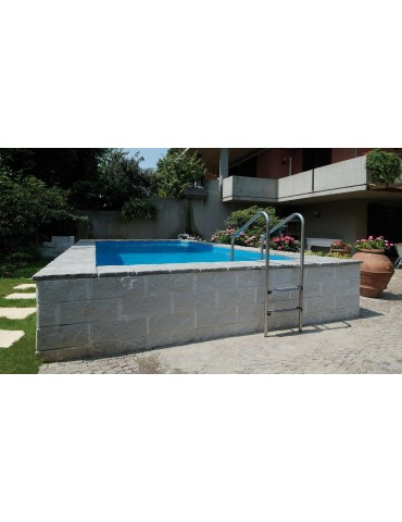 Piscine laghetto dolce vita interrata vannini aqua pool for Piscine hors sol laghetto