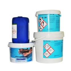 Chemical products for pool