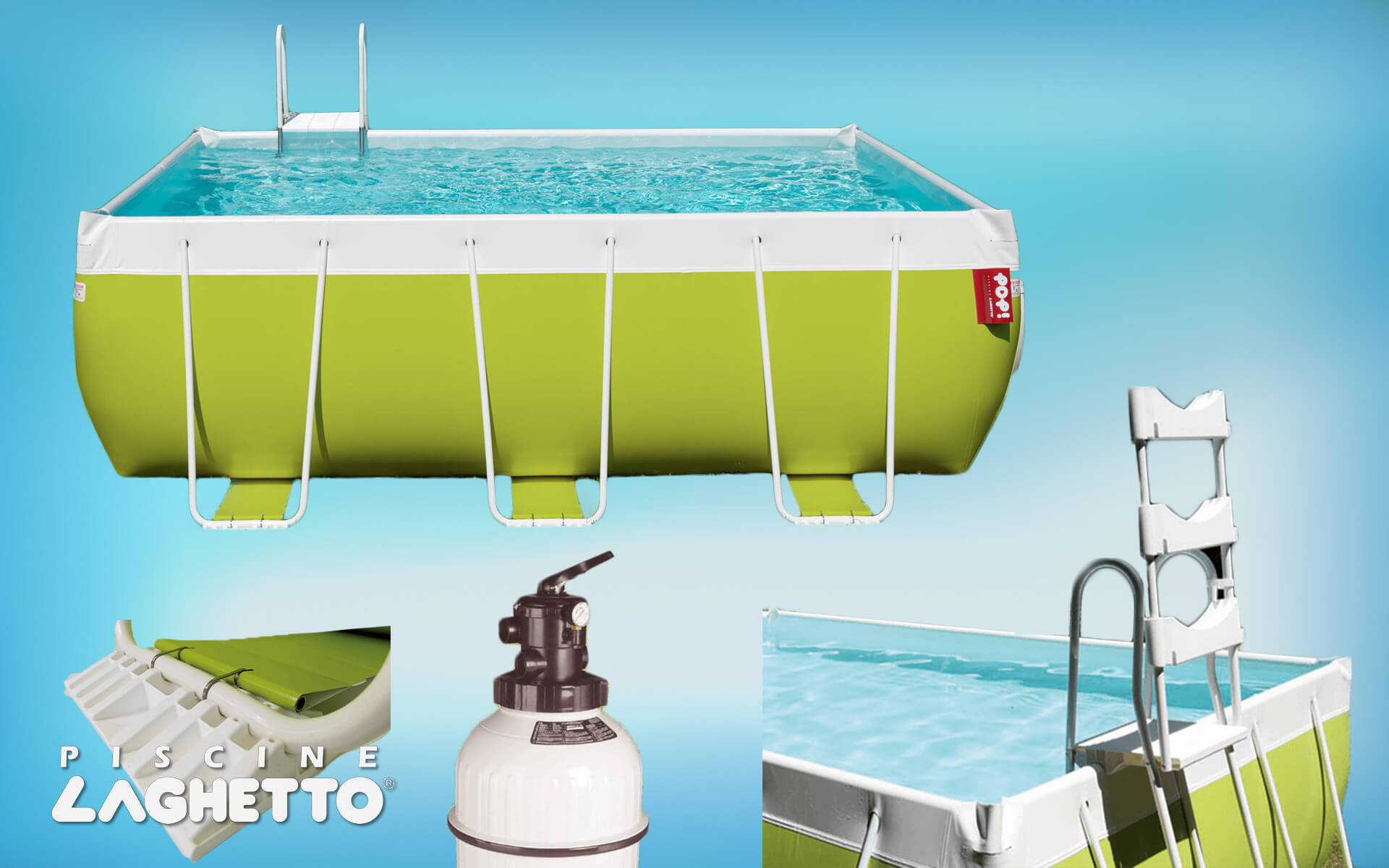 LAGHETTO POOLS AND SPARE PARTS SALES
